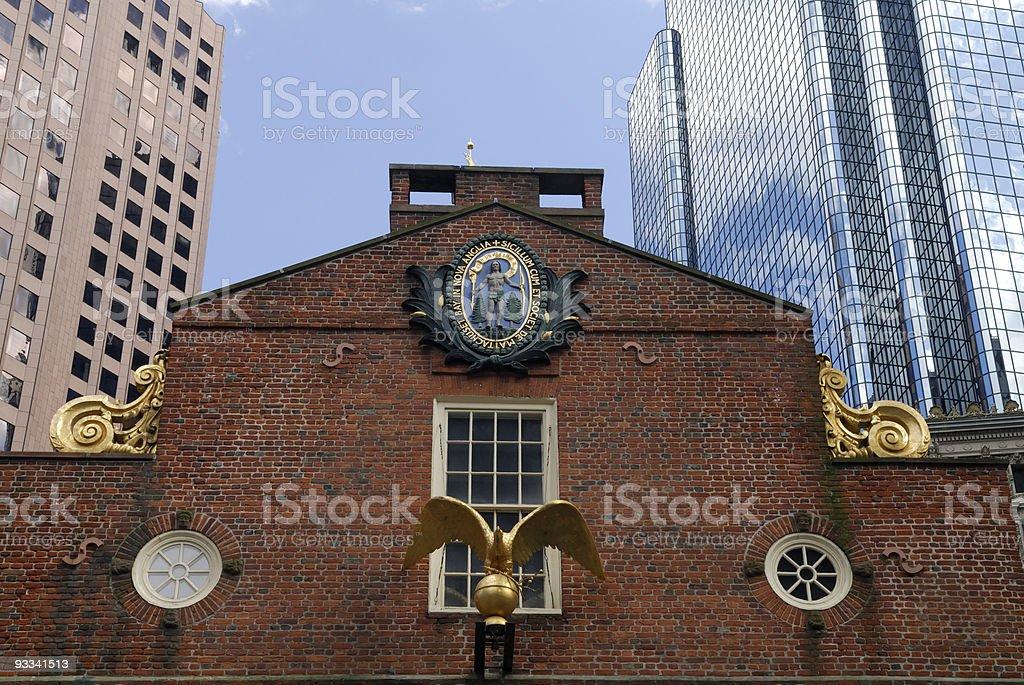 Old State House Boston, USA stock photo