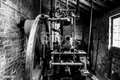 istock Old Steam Engine 506655197