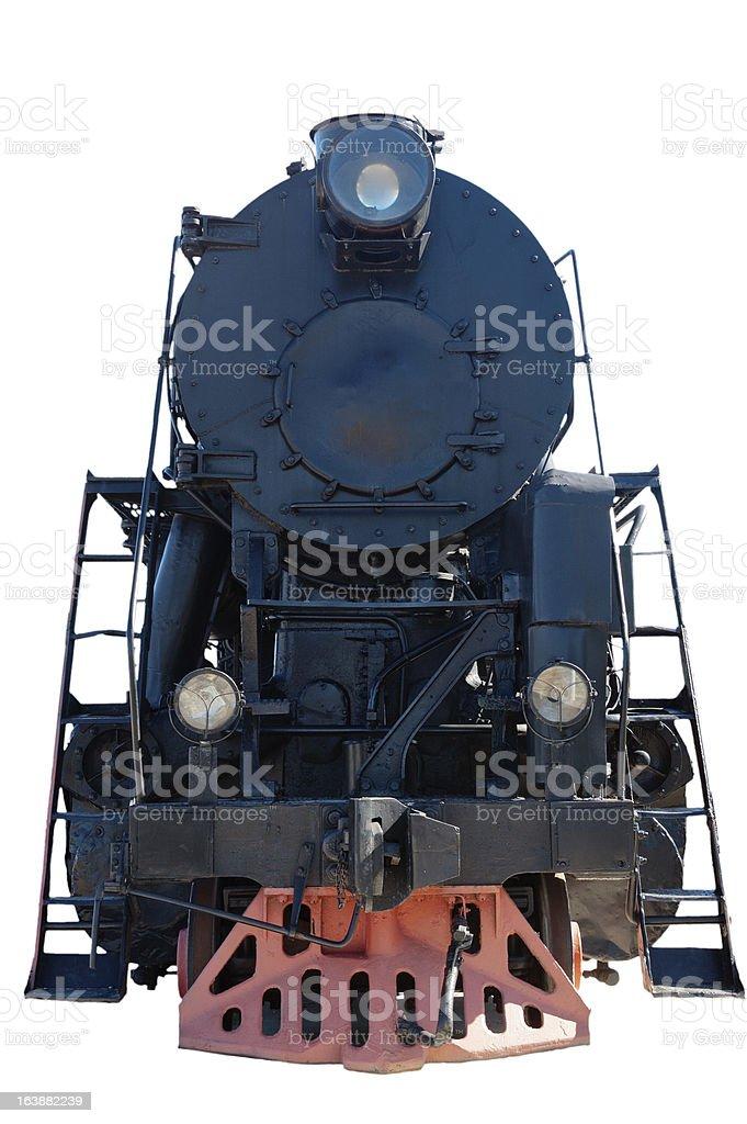 Alte Dampflokomotive, Nahaufnahme – Foto