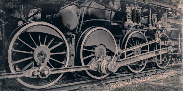 alte dampflok - lokomotive stock-fotos und bilder