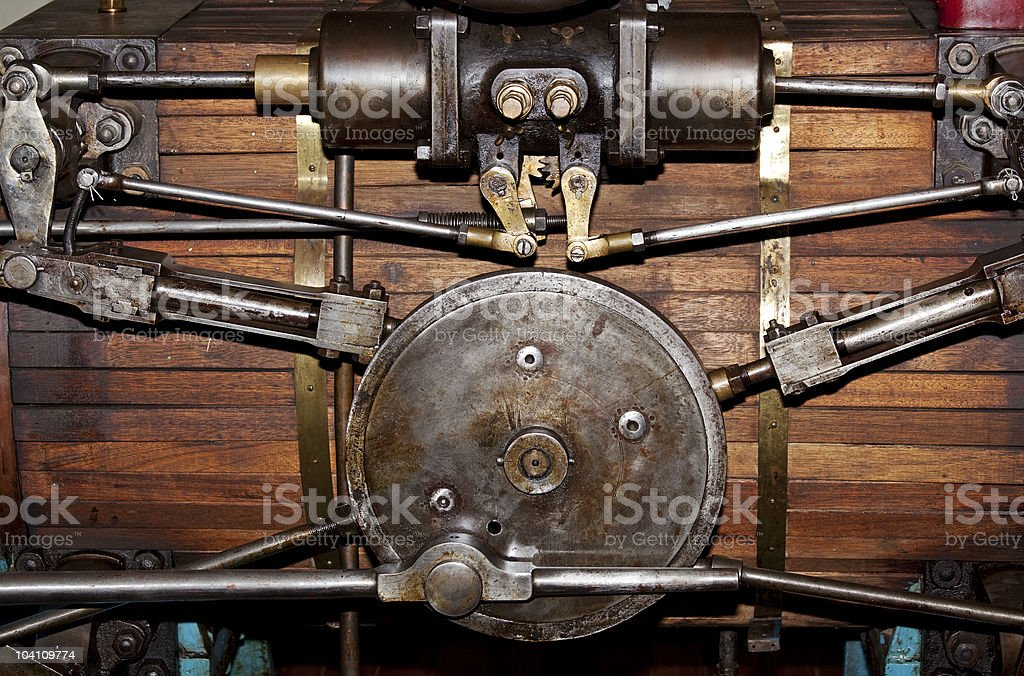 old steam stock photo