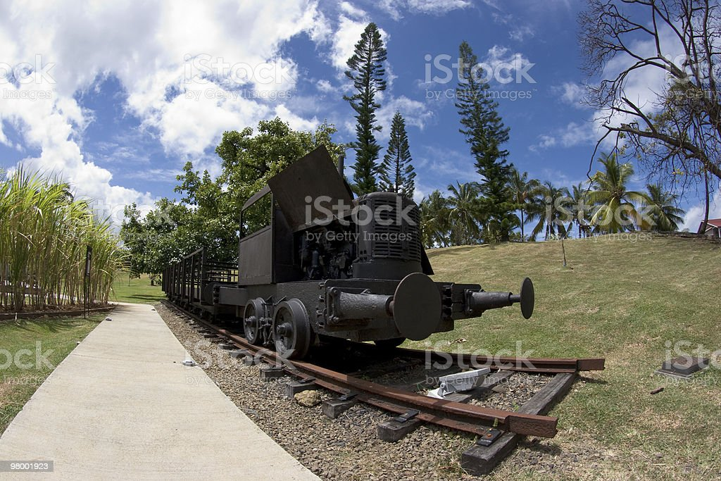 Old Steam Train royalty free stockfoto