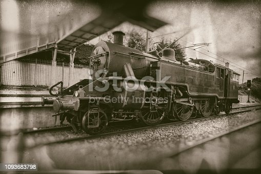 Irish steam train No. 4