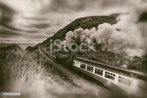 Irish steam train No. 4