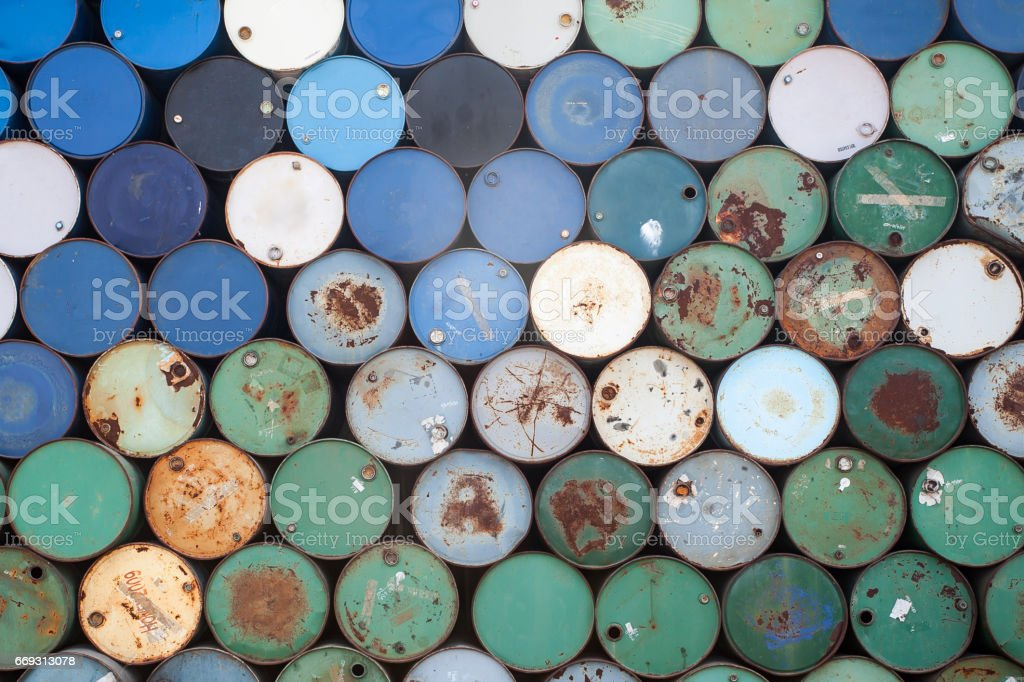 old steel tank background - foto de acervo