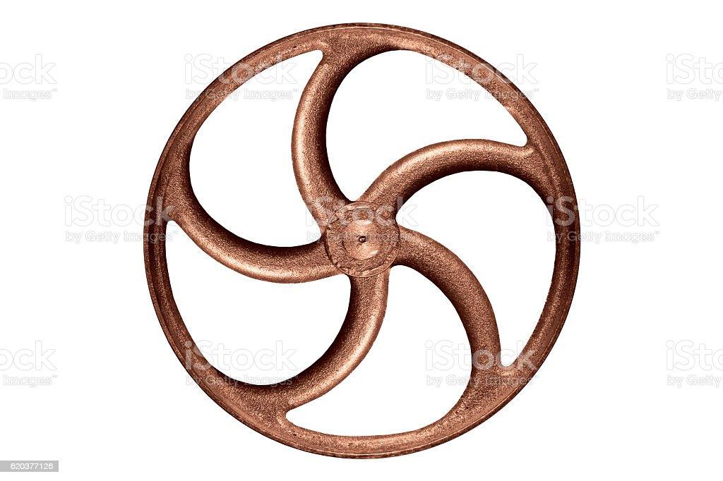 old steel wheel foto de stock royalty-free