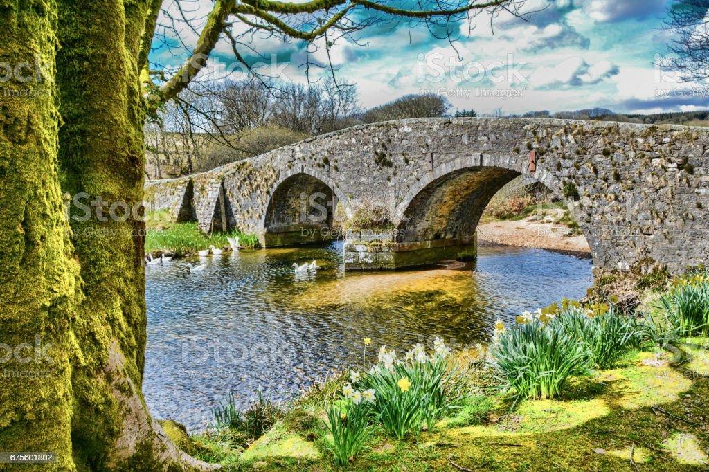 Old Stone Bridge photo libre de droits