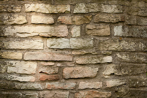 old stone chimney background