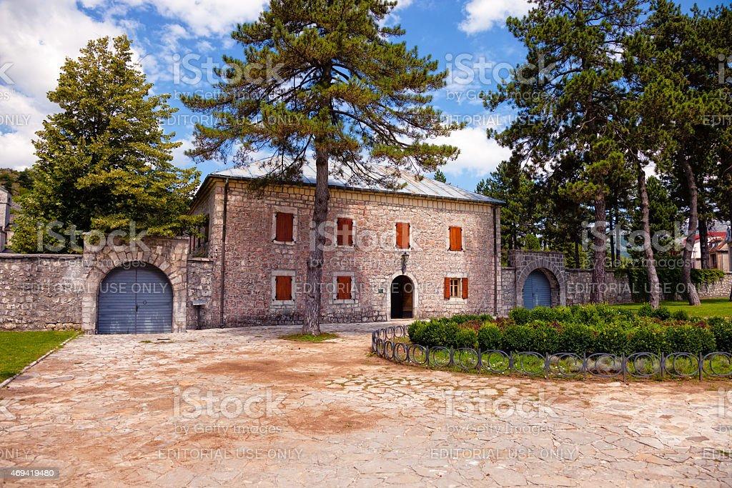 オールドストーンレジデンスで Cetinje 、モンテネグロます。 ロイヤリティフリーストックフォト