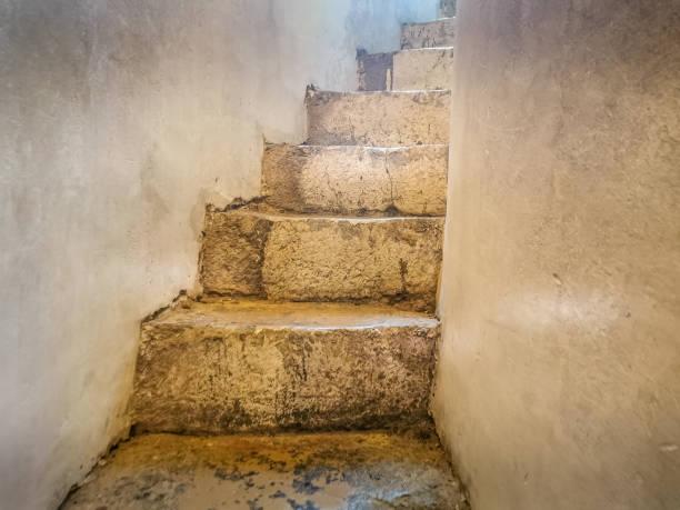 Old stone stairs in Zadar – zdjęcie