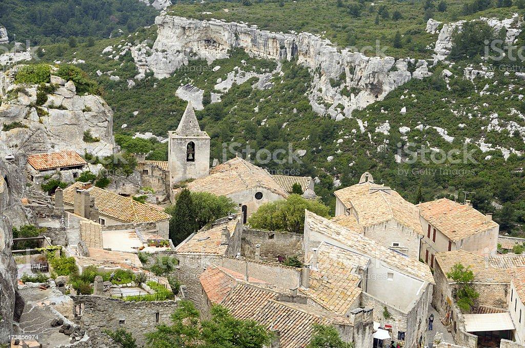 Old stone village royalty-free stock photo