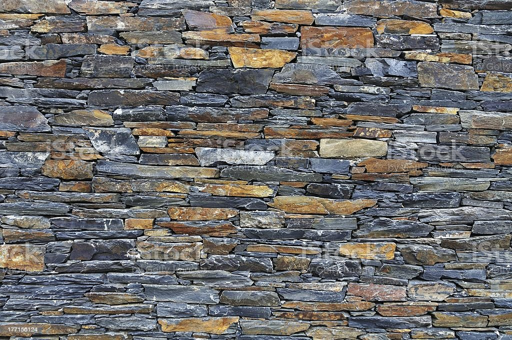 Old Stone Wall Background royalty-free stock photo