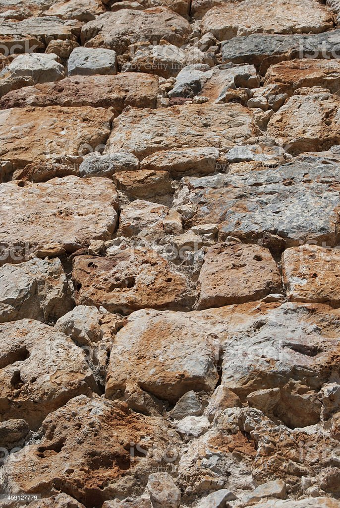 old stone wall background texture royalty-free stock photo