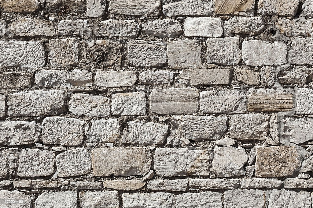 Old Stone Wall royalty-free stock photo