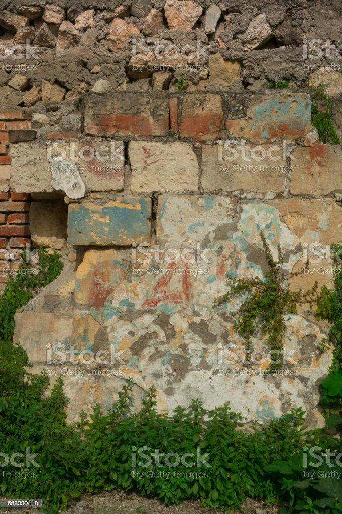 old stone wall photo libre de droits