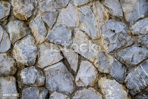 489767858 istock photo Old stone wall texture for background 483021662