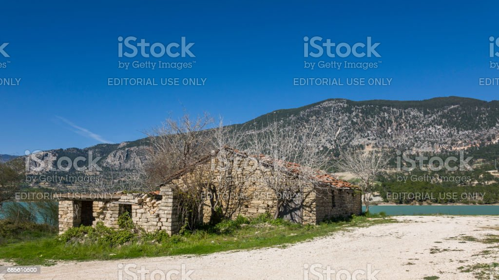 Old stones house foto de stock royalty-free