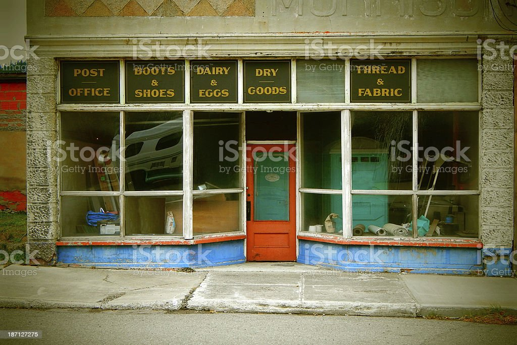 Old Store Front Stock Photo - Download Image Now - iStock