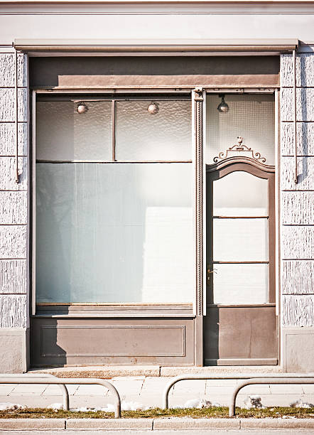 old store front - store window stock pictures, royalty-free photos & images