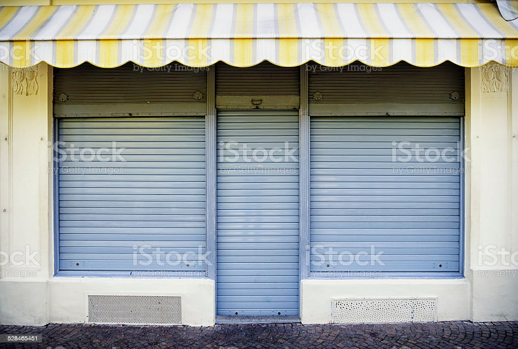 old store front stock photo