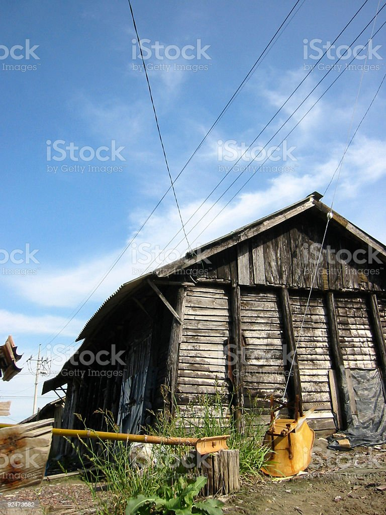 Old Storehouse royalty-free stock photo
