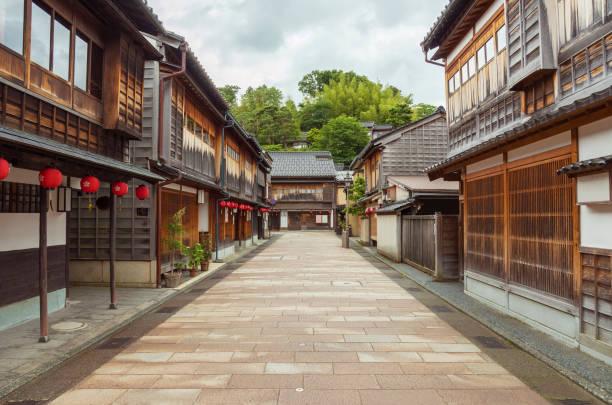 Old street in Japan – Foto