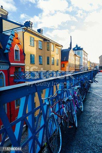 Old street in Stockholm, Sweden