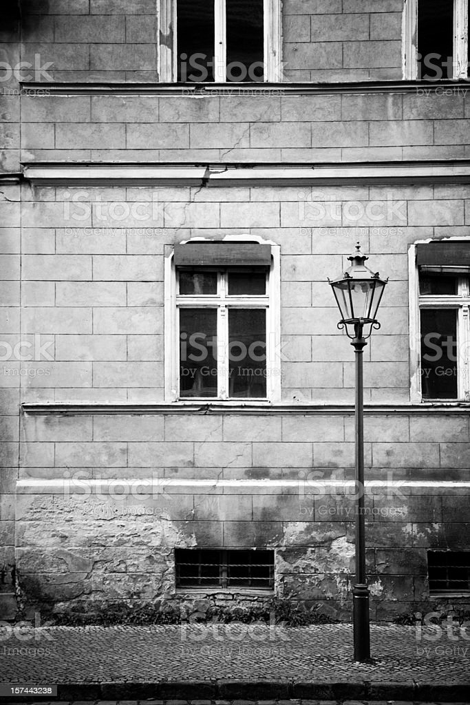 old street lamp royalty-free stock photo