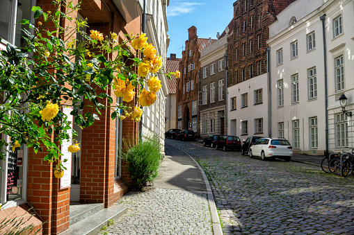 Old street Lubeck town