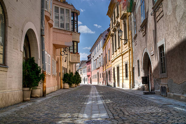 old street - european culture stock photos and pictures