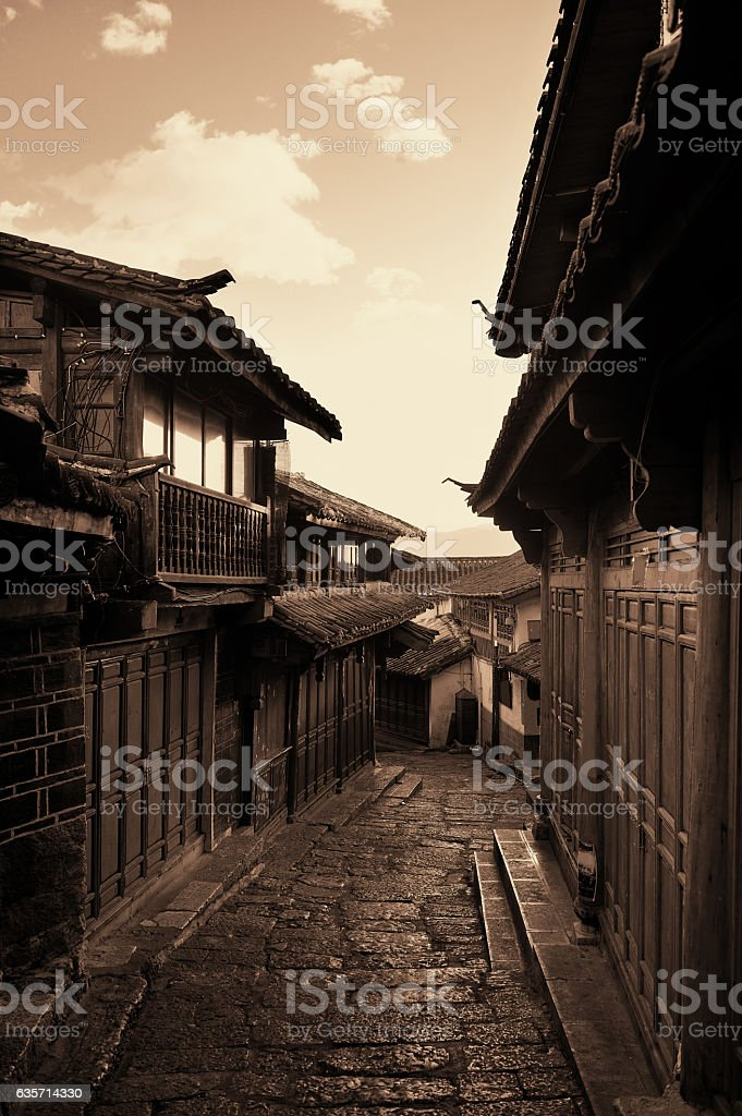 Old street royalty-free stock photo