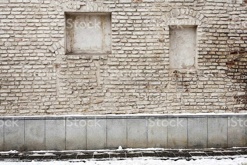 Old street wall royalty-free stock photo