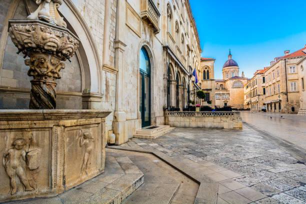 Alte Straßen in Kroatien. – Foto