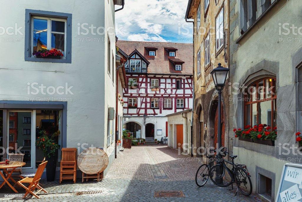 Alte Straßen der europäischen Städte. Konstanz. Deutschland – Foto