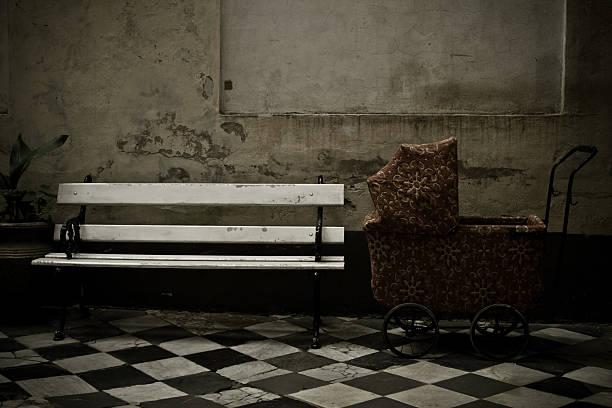 Old Kinderwagen – Foto