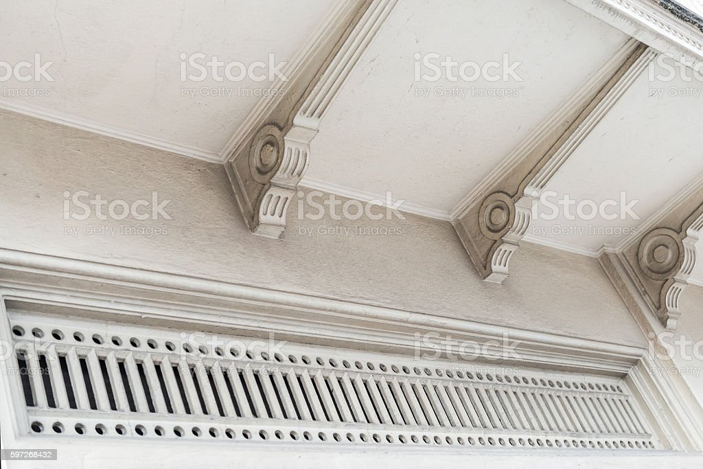 Old style architecture royalty-free stock photo