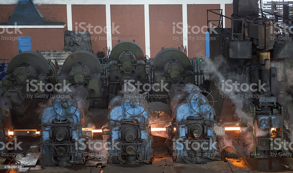 Old style engines royalty-free stock photo
