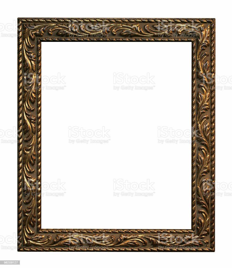Old style frame royalty-free stock photo