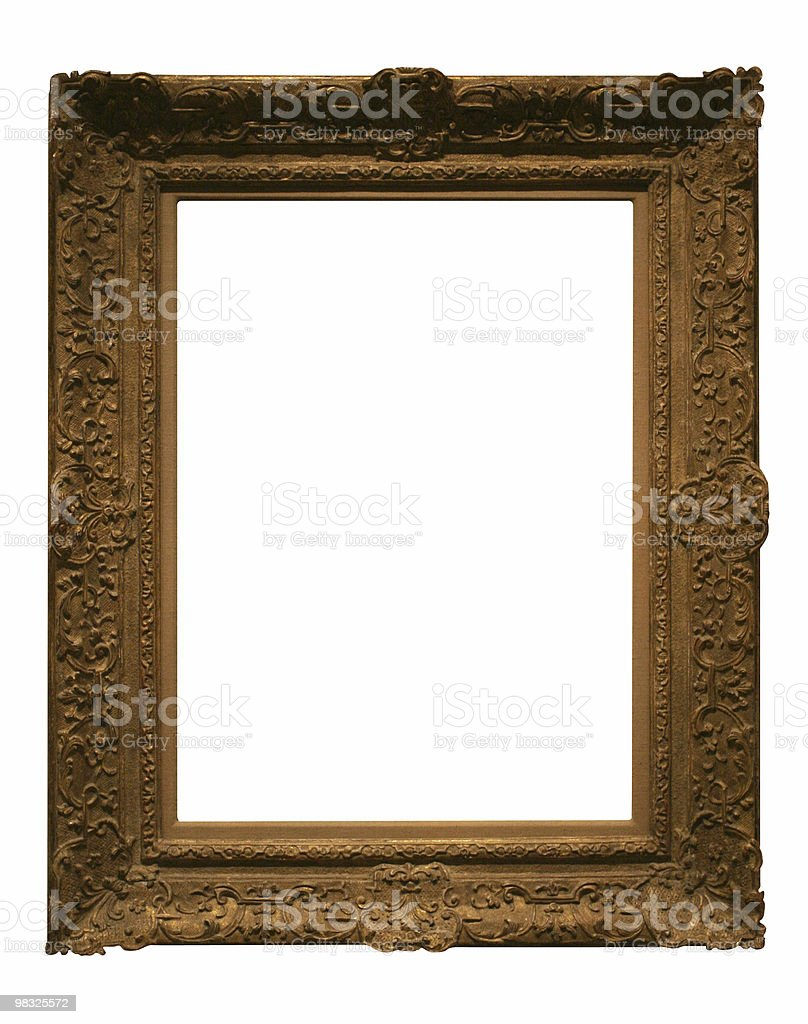 Old style frame to use in your design royalty-free stock photo