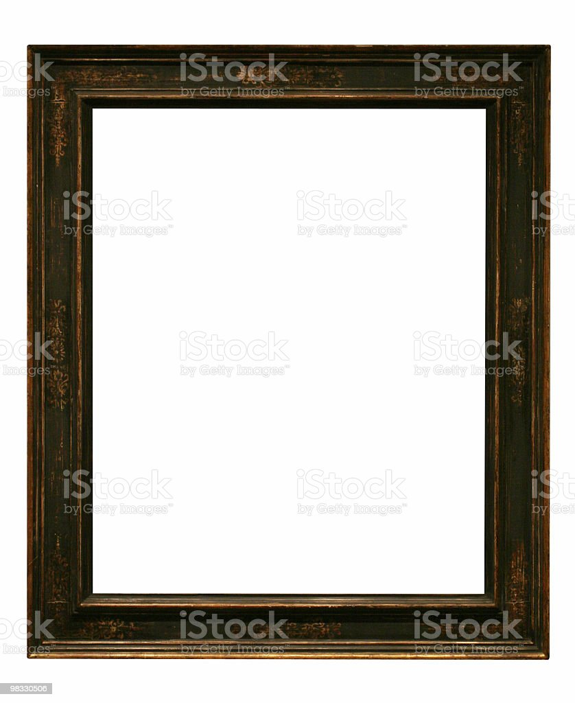 Old style looking frame royalty-free stock photo