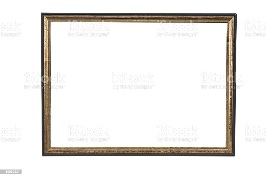 old style picture frame royalty-free stock photo