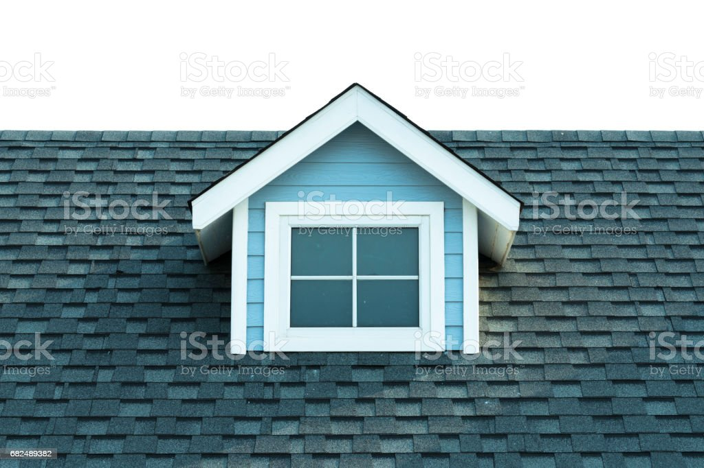 Old style roof of house. royalty-free stock photo