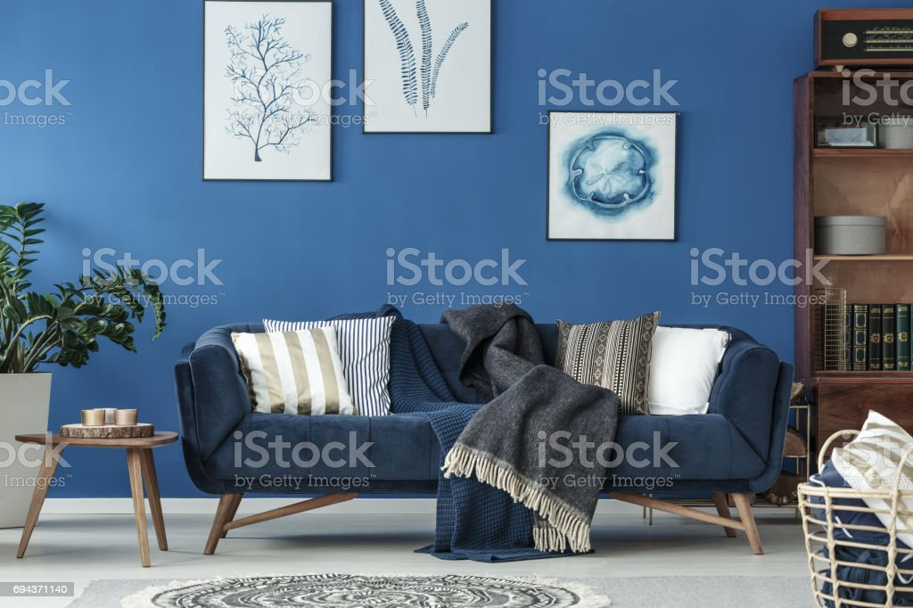 Old style room stock photo