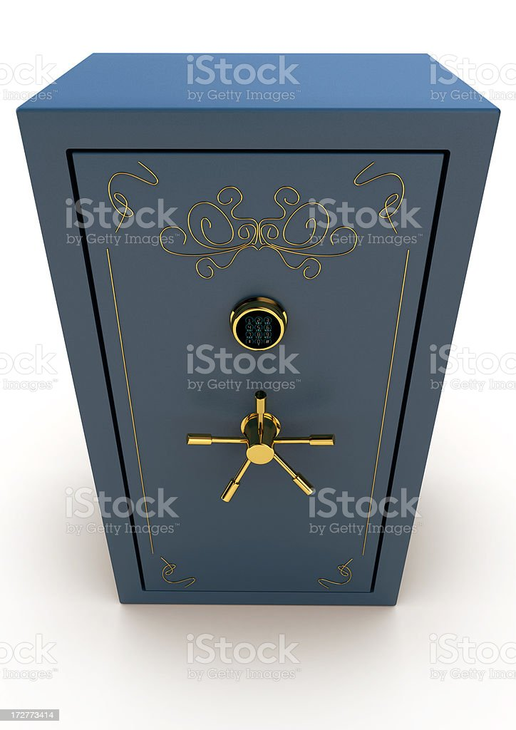 Old Style Safes stock photo