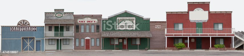 istock Old Style Store Facade 474518697