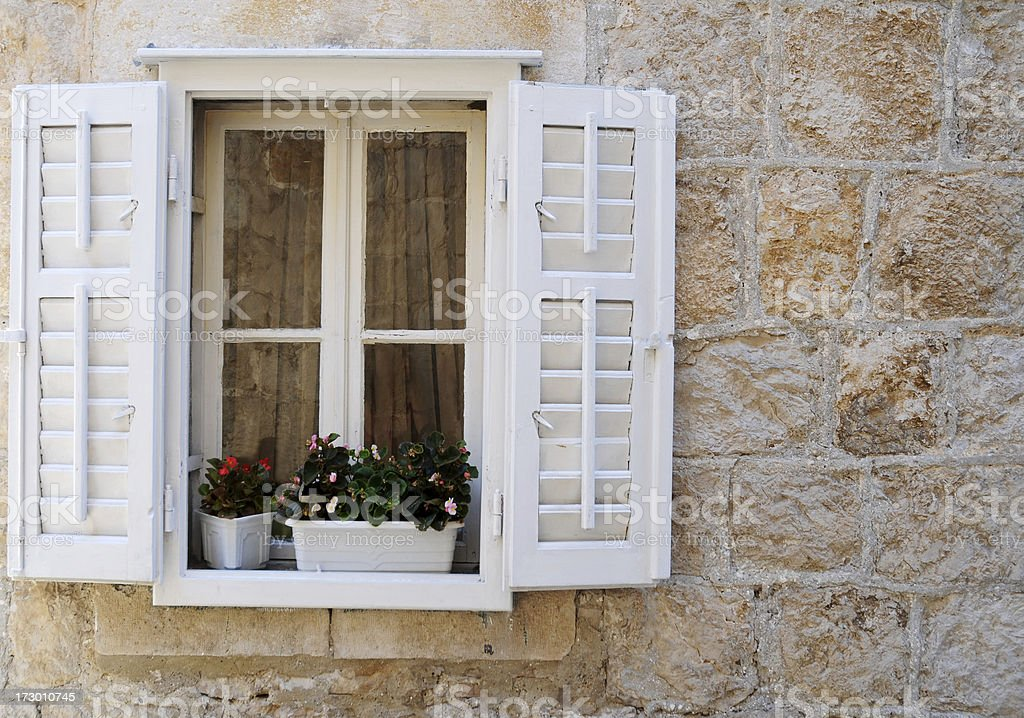 old style sweet window royalty-free stock photo