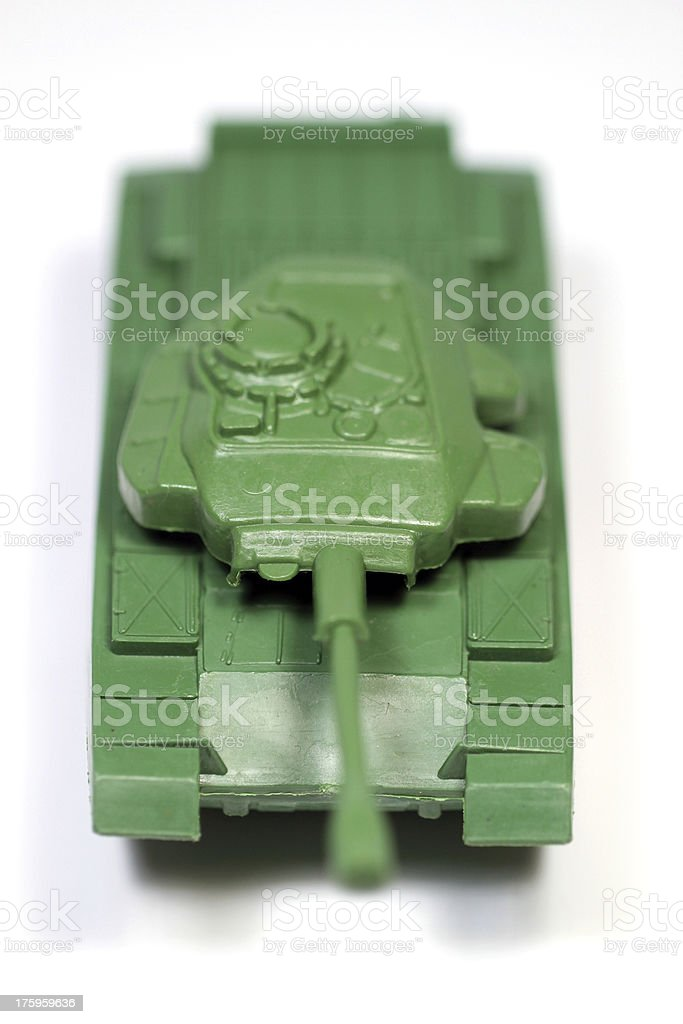 Old Style Tank royalty-free stock photo