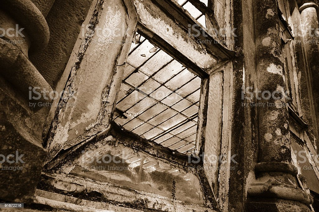 Old Styled Window royalty-free stock photo