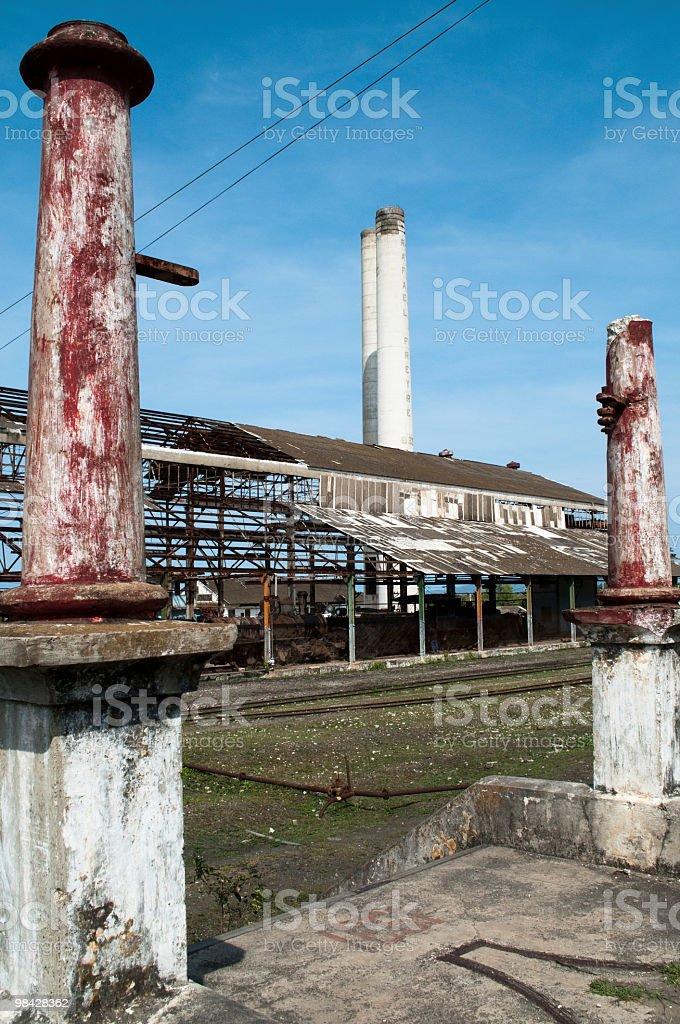 Old sugar mill Rafael Freyre, Cuba royalty-free stock photo