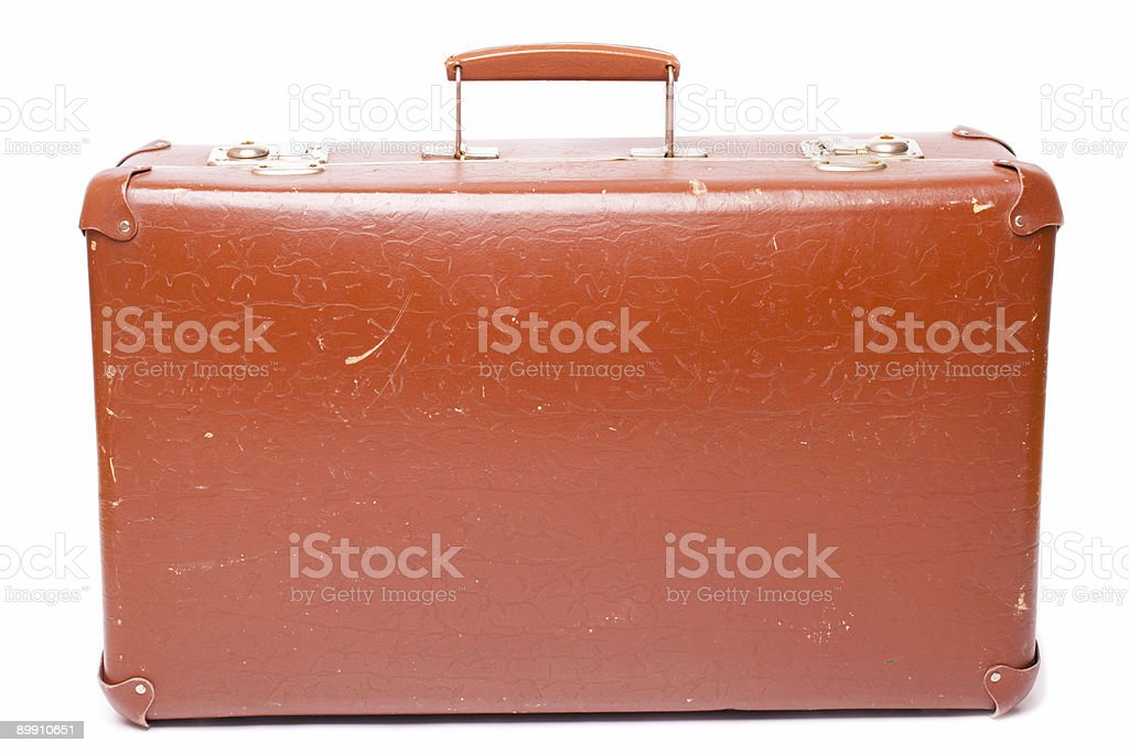 Alte Koffer Lizenzfreies stock-foto